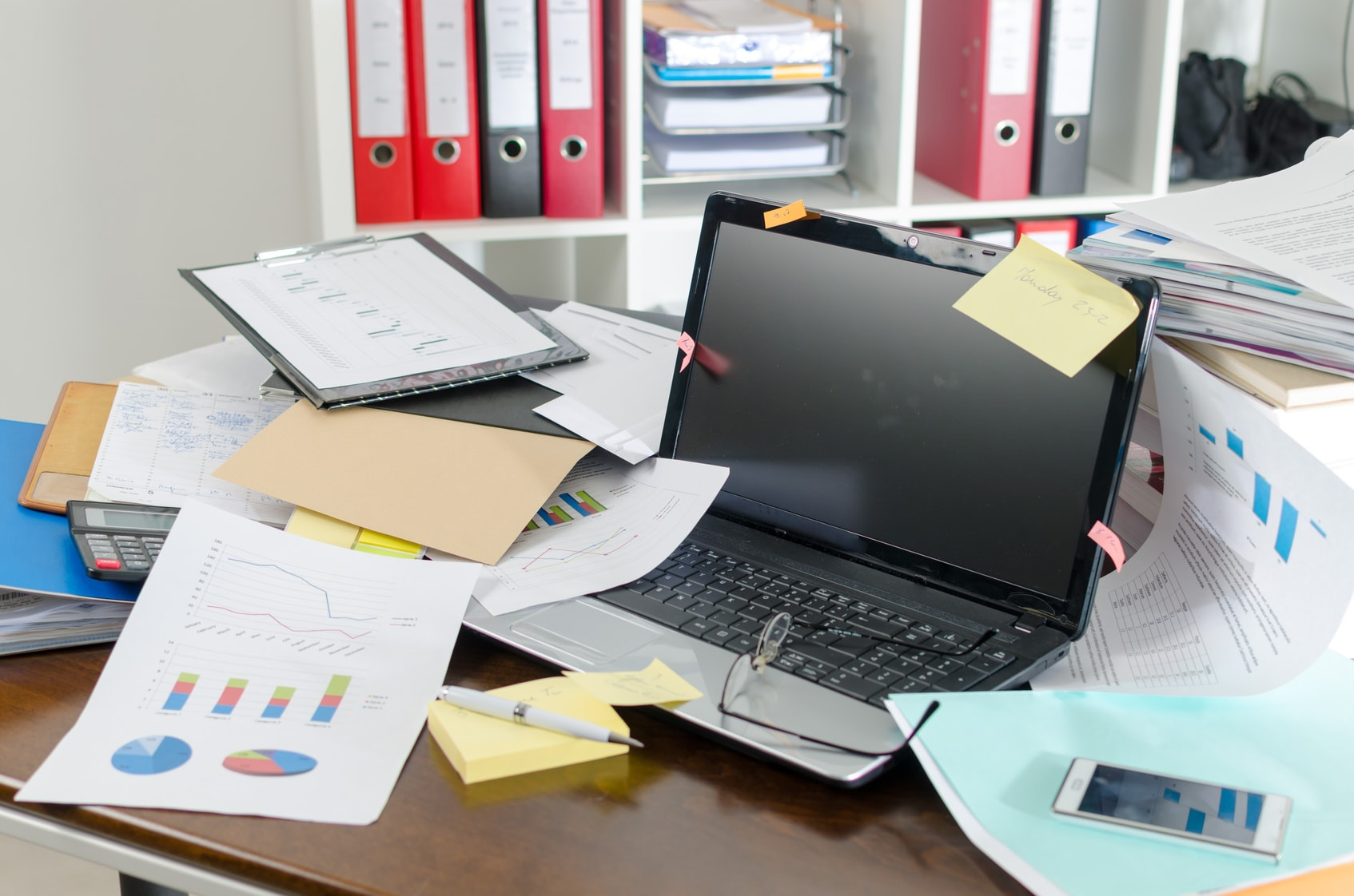 Chaos am Arbeitsplatz