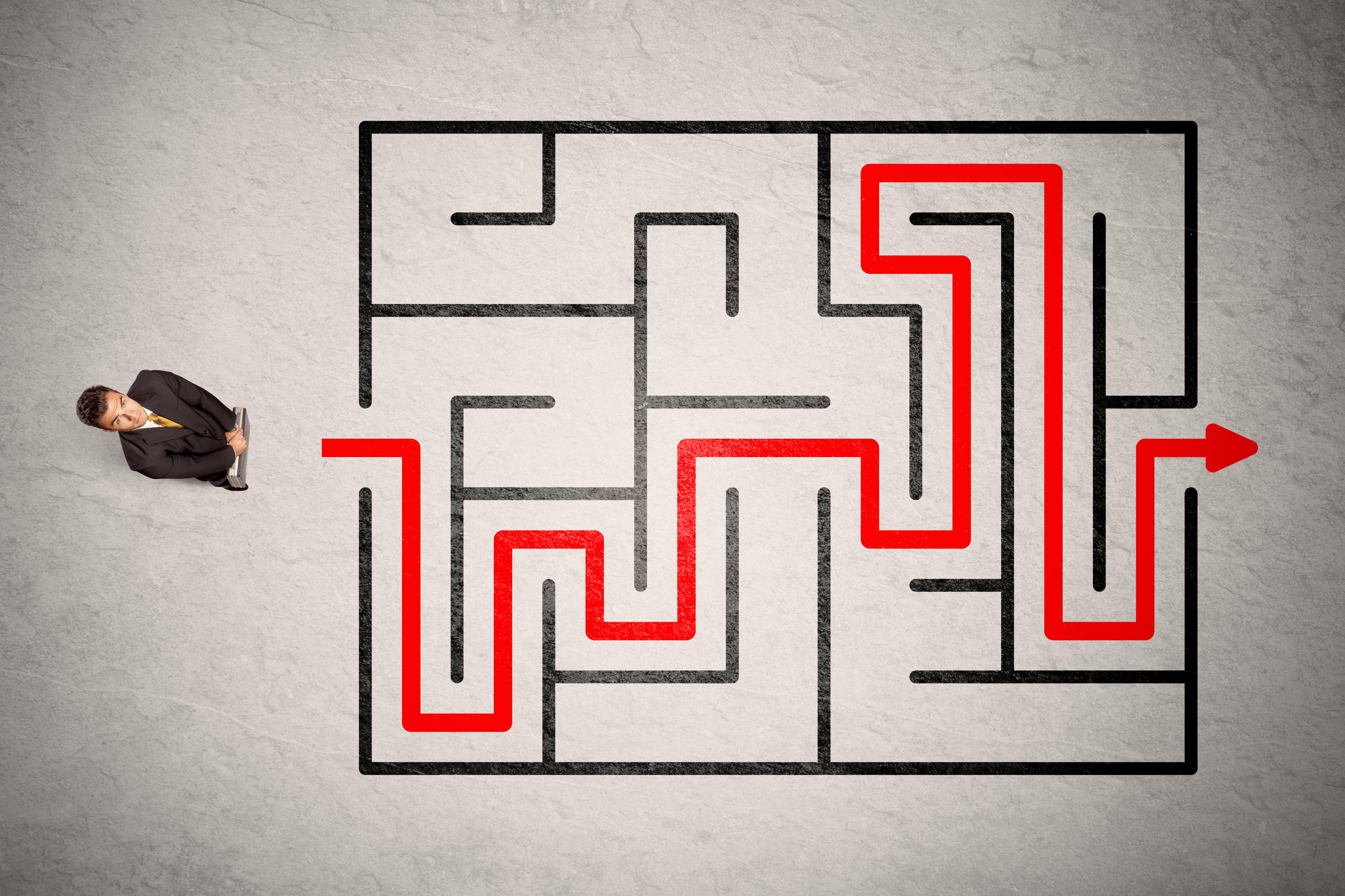 La thèse : un labyrinthe?