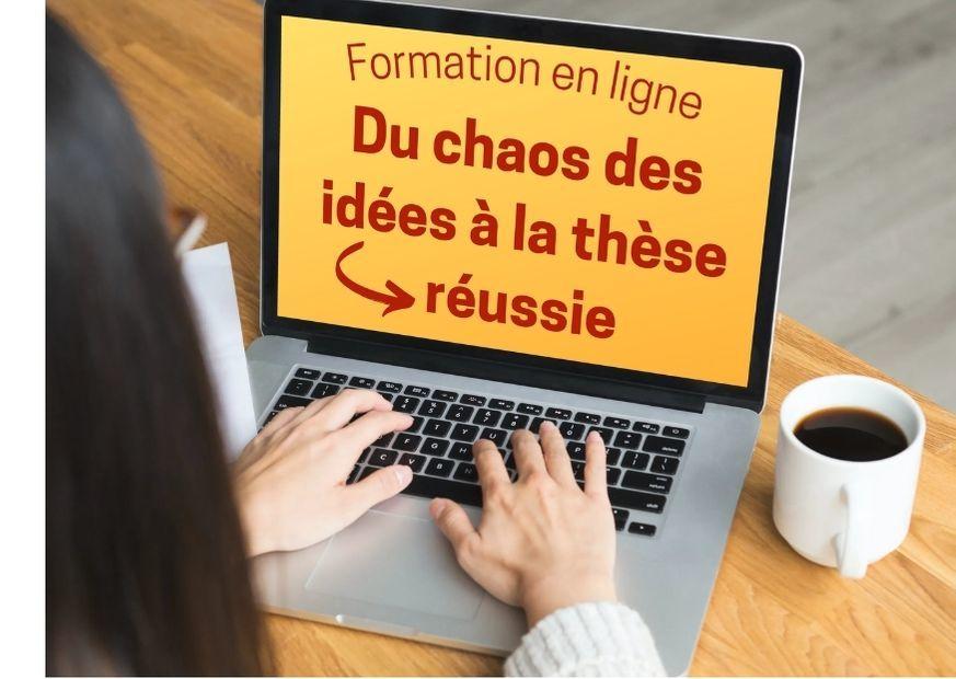 Rédiger sa thèse : formation en ligne